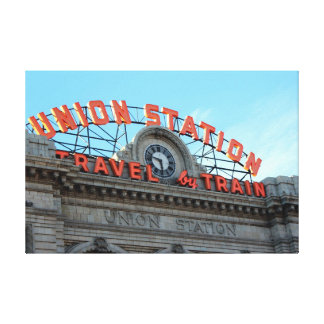 Union Station - Downtown Denver Canvas Print