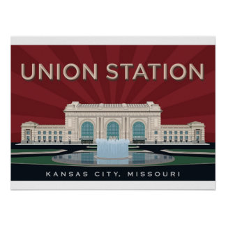 Union Station - Kansas City Poster