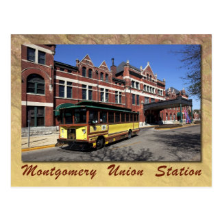 Union Station, Montgomery, Alabama Postcard