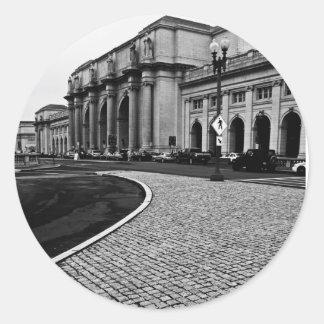 Union Station - Washington, DC Classic Round Sticker