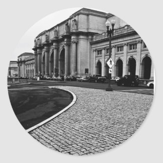 Union Station - Washington, DC Round Sticker