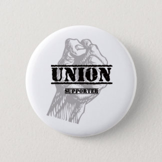 Union Thug Supporter 2 Inch Round Button