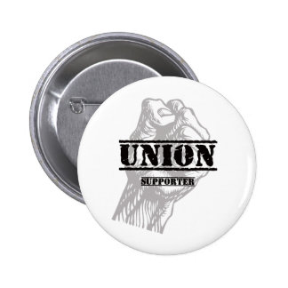Union Thug Supporter 2 Inch Round Button