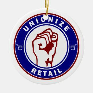 Unionize Retail Ceramic Ornament