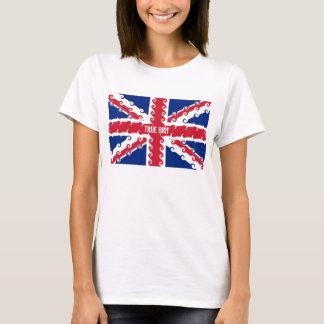 UnionJack curls, True Brit T-Shirt