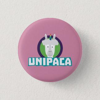 Unipaca Unicorn Alpaca Z67aj 1 Inch Round Button