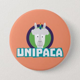 Unipaca Unicorn Alpaca Z67aj 3 Inch Round Button