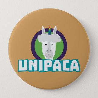 Unipaca Unicorn Alpaca Z67aj 4 Inch Round Button