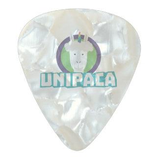 Unipaca Unicorn Alpaca Z67aj Pearl Celluloid Guitar Pick