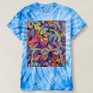 Unique Abstractions tye dye Tshirt design