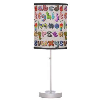 Unique Alphabet Lamp