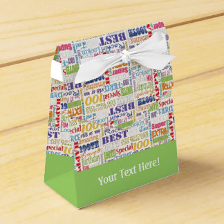 Unique And Special 100th Birthday Party Gifts Favor Box