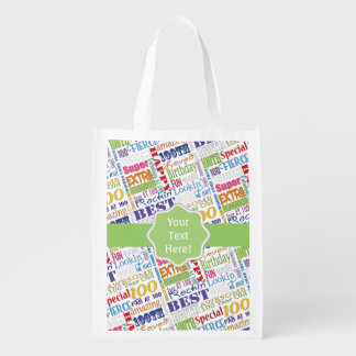 Unique And Special 100th Birthday Party Gifts Reusable Grocery Bag