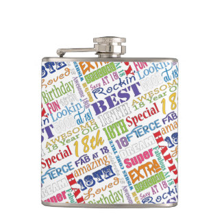 Unique And Special 18th Birthday Party Gifts Hip Flask