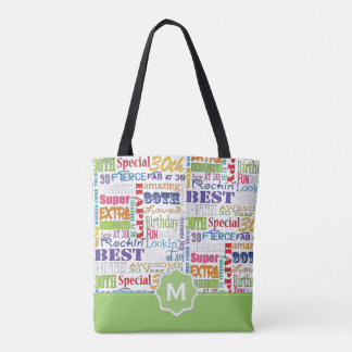 Unique And Special 30th Birthday Party Gifts Tote Bag