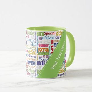 Unique And Special 65th Birthday Party Gifts Mug