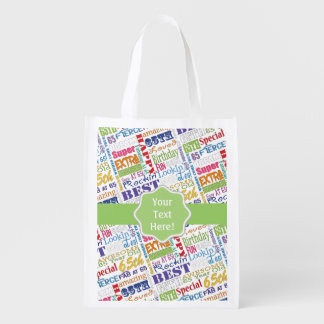 Unique And Special 65th Birthday Party Gifts Reusable Grocery Bag
