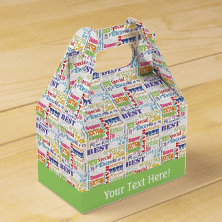 Unique And Special 75th Birthday Party Gifts Favor Box