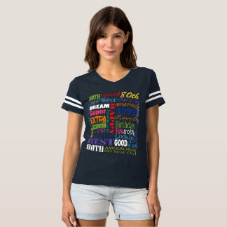 Unique And Special 80th Birthday Party Gifts T-shirt