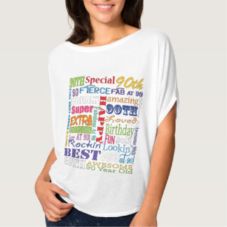 Unique And Special 90th Birthday Party Gifts T-Shirt