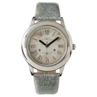 Unique Antique Roman Numeral Vintage Rustic Watch