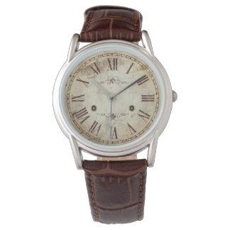 Unique Antique Roman Numeral Vintage Rustic Watches
