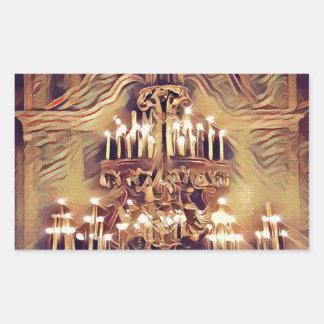 Unique Artistic Vintage Lighted Chandelier