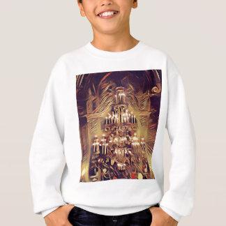 Unique Artistic Vintage Lighted Chandelier Sweatshirt