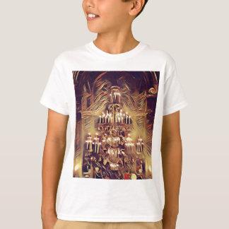 Unique Artistic Vintage Lighted Chandelier T-Shirt