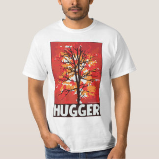 Unique Autumn Tree Hugger T-Shirt