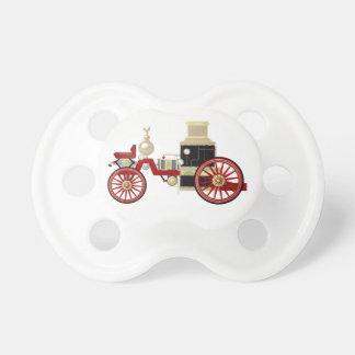 Unique baby pacifier for firefighter parents...