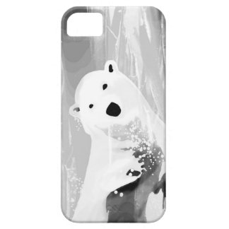 Unique Black and White Polar Bear Design iPhone 5 Covers