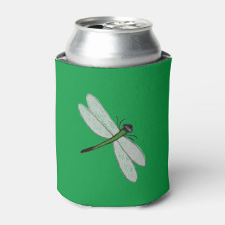 Unique Can Drink Cooler with Dragonfly