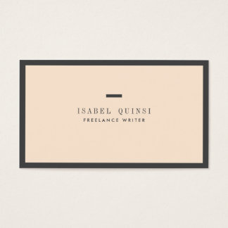★ Unique Chic Business Card