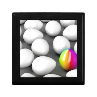 Unique colorful egg gift box