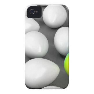 Unique colorful egg iPhone 4 cover