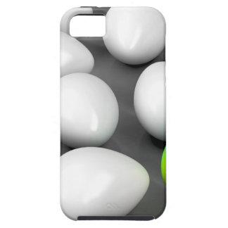 Unique colorful egg iPhone 5 case