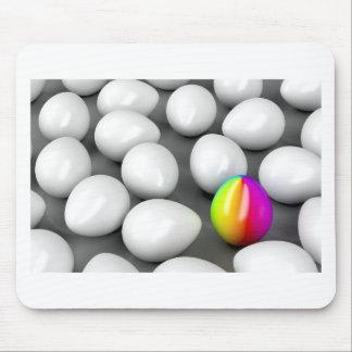 Unique colorful egg mouse pad