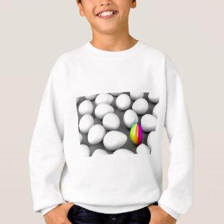 Unique colorful egg sweatshirt