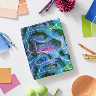 Unique Cool 3D Colorful Abstract Background No2 iPad Cover