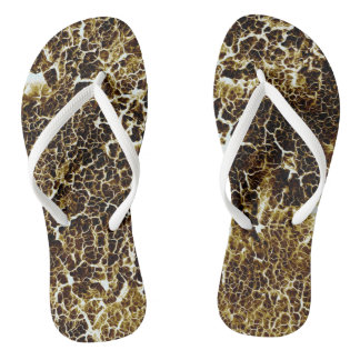 Unique Cool Abstract Pattern Flip Flops