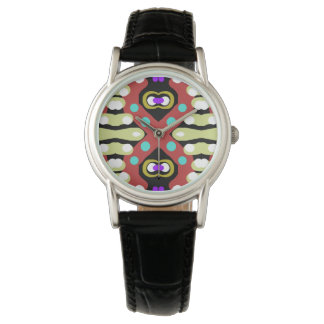 Unique Crazy Abstract Artwork Totem Watch