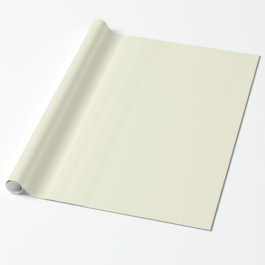 Unique Cream Beige. 4 Types, 5 Sizes, High Quality Wrapping Paper
