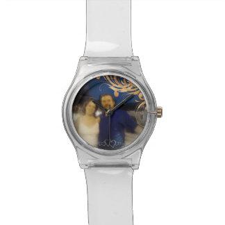 Unique Create Your Own Romantic Couple Photo Wrist Watches