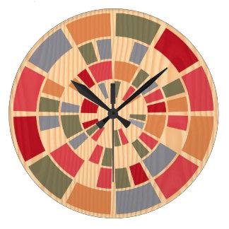 Unique Decorative Modern Wooden Unusual Cool Large Clock
