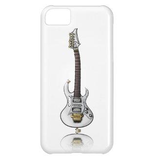 Unique electric rock guitar caricature iPhone 5C cover