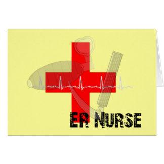 Unique ER Nurse Gifts Card