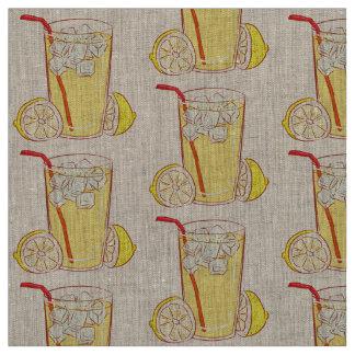 Unique fabric  Lemonade  Lemon