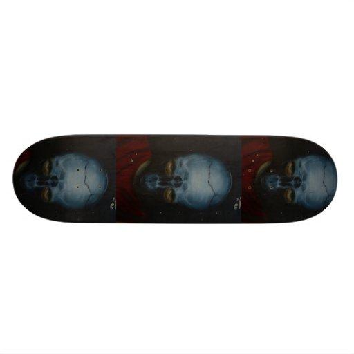 Unique Face Graffiti Skateboard