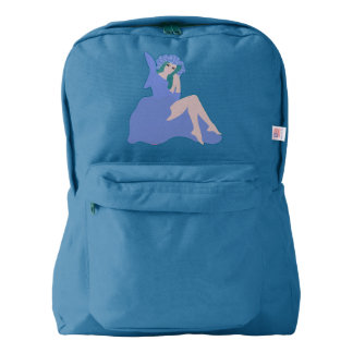 Unique fairy American Apparel™ rucksack Backpack